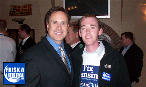 Mike Bouchard (running for MI governor) and Myself.