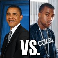 Obama Vs. Kanye