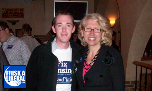 Sec. Terri Lynn Land (running for Lt. Governor) and Myself.