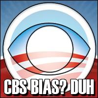 CBS' liberal bias.