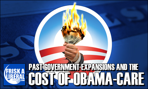 Government-Programs-ObamaCare-Cost
