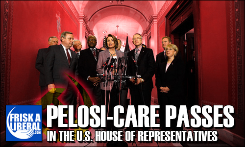 Pelosi-Care-Passes-House