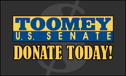 Donate to Pat Toomey's campaign today!