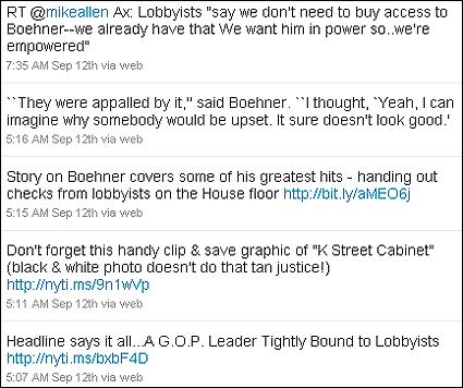 Press Secretary Robert Gibb's Twitter